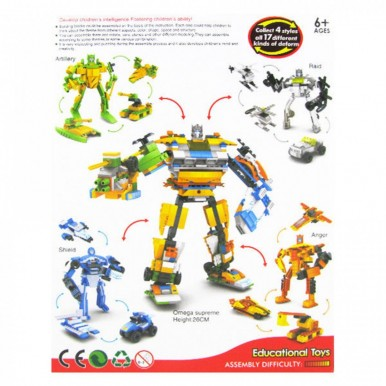 UNIVERSE ROBOT LEGO - ANGER