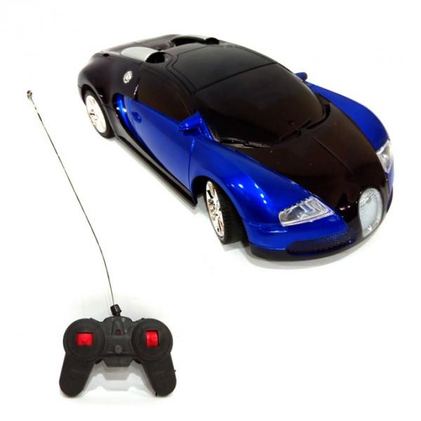 RC  BUGGATTI CAR  BLUE  4 CHANNEL