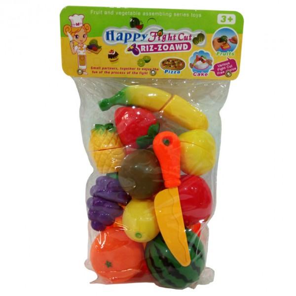 HAPPY FRUITS CUTTING PLASTIC