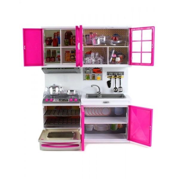 Buy Modern Kitchen Set Toy For Kids Pretend Play Online In