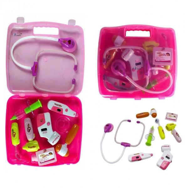 Doctor Set - Pink Briefcase
