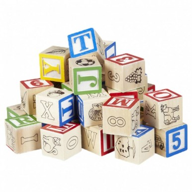 ABC WOOD BLOCKS - SMALL