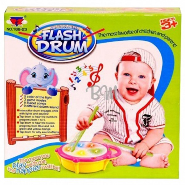 FLASH DRUM TOY SET FOR BABIES