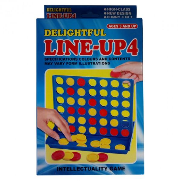 LINE-EM-UP Toy For Kids