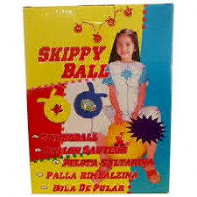 SKIPPY BALL FOR KIDS - YELLOW