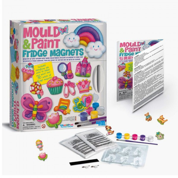 MOULD and PAINT TOY - FRIDGE MAGNETS