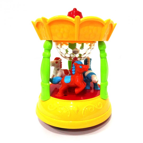Musical Merry-go-Round Toy for babies
