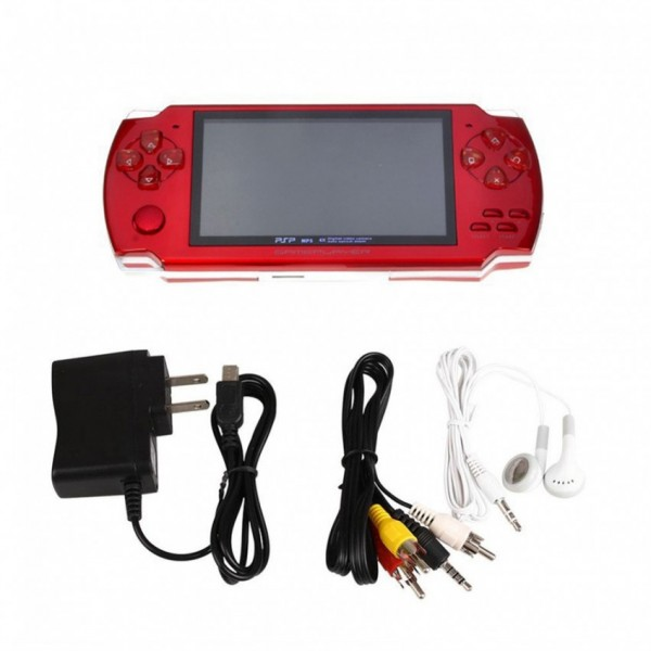 PSP GAME WITH CAMERA - RED