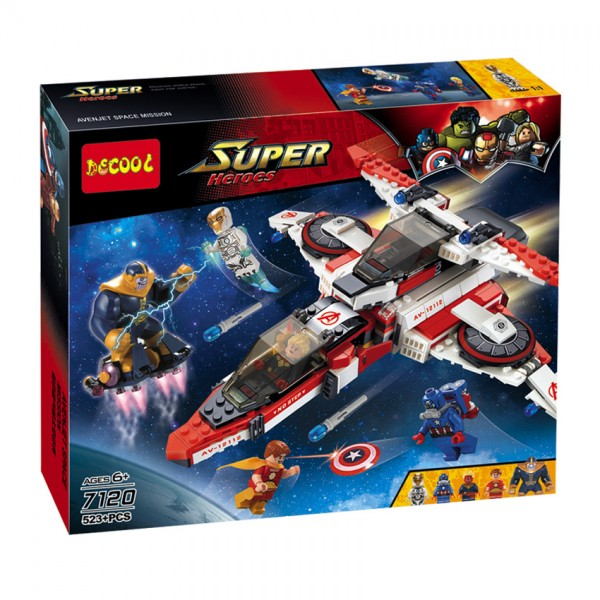 AVENGERS LEGO - JET SPACE MISSION