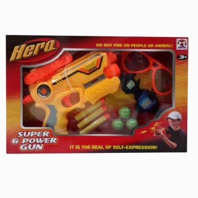 SUPER DART GUN WITH EQUIPMENTS