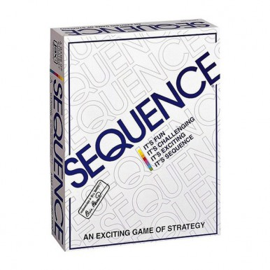 SEQUENCE STRATEGY BOARD GAME - LARGE