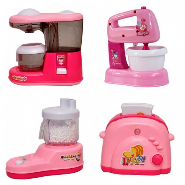 Household Kitchen Appliances Play Set