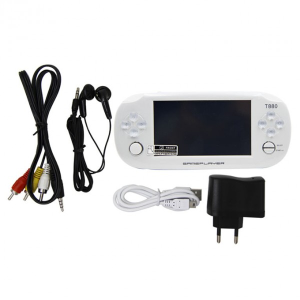 PSP EXTREME GAME WITH CAMERA AND TORCH  WHITE