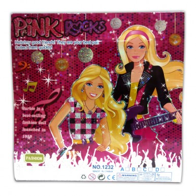 Pink Rocks Doll - Pretend Play set