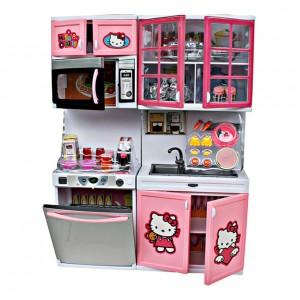 Hello Kitty Modern Kitchen