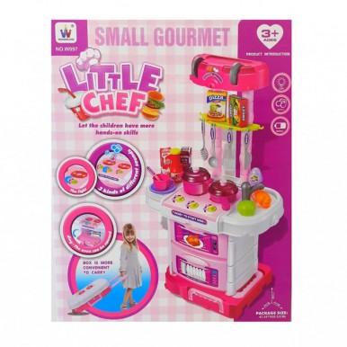 Little Chef Pretend Play Briefcase Kitchen