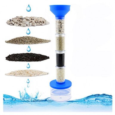 DIY - Water Filtration Experiment Science Kit