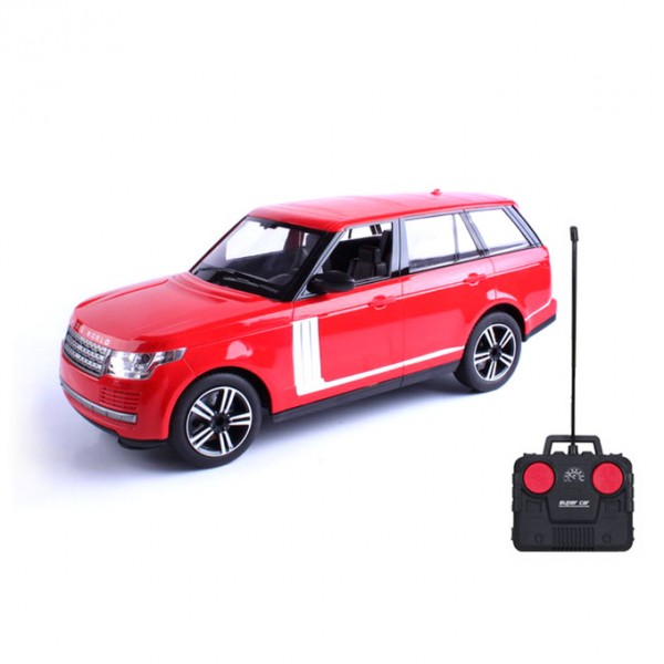 Remote Control Range Rover Toy Car - 4 Channel - Red