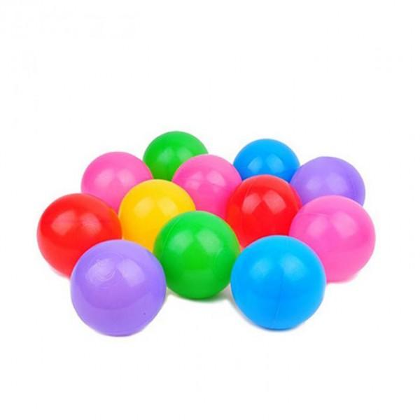 Soft Plastic Tent Balls Multicolor (12 Pcs)