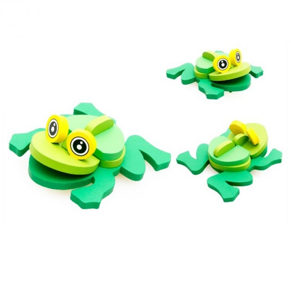 3D Animal Jigsaw Puzzle - Frog