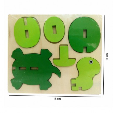 3D Animal Jigsaw Puzzle - Turtle