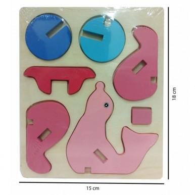 3D Animal Jigsaw Puzzle - Seal