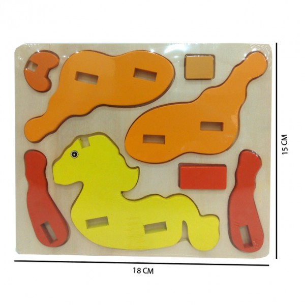 3D Animal Jigsaw Puzzle - Horse