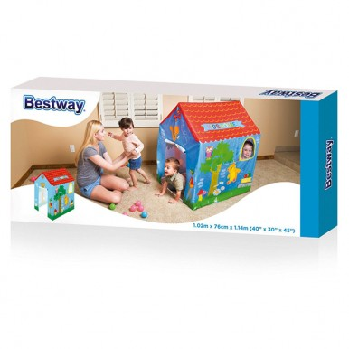 Bestway Kids' Pop-Up Play House - Blue