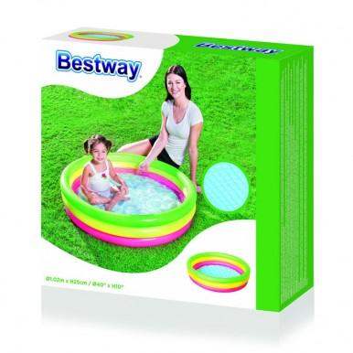 Bestway Summer Set Paddling Pool - 40 inch