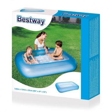 Bestway Inflatable Rectangular Aquababes Swimming Pool - 5.5ft