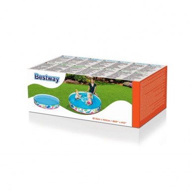 Bestway Fill N Fun Ocean Life Vinyl kids Play Pool - 4ft