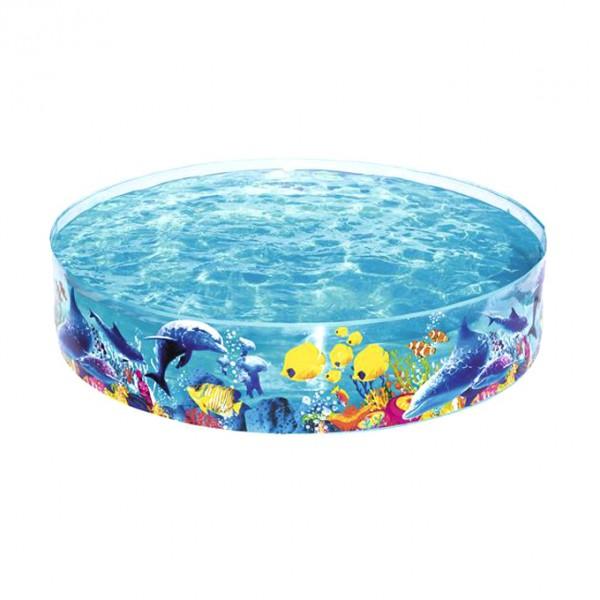 Bestway Fill N Fun Fish Vinyl kids Play Pool - 6ft