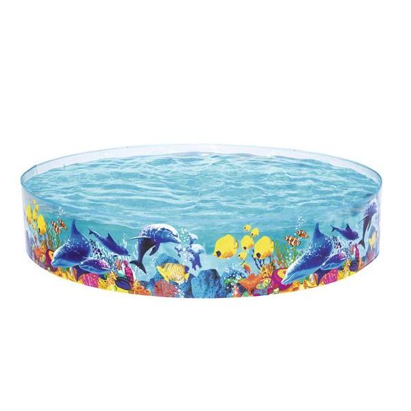 Bestway Fun Sea Life Vinyl kids Play Pool - 8 ft