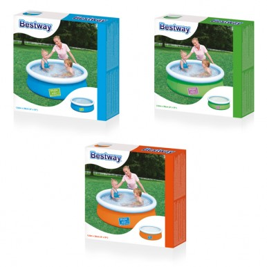 Bestway My First Fast Set Swimming Pool for Kids - 5 ft