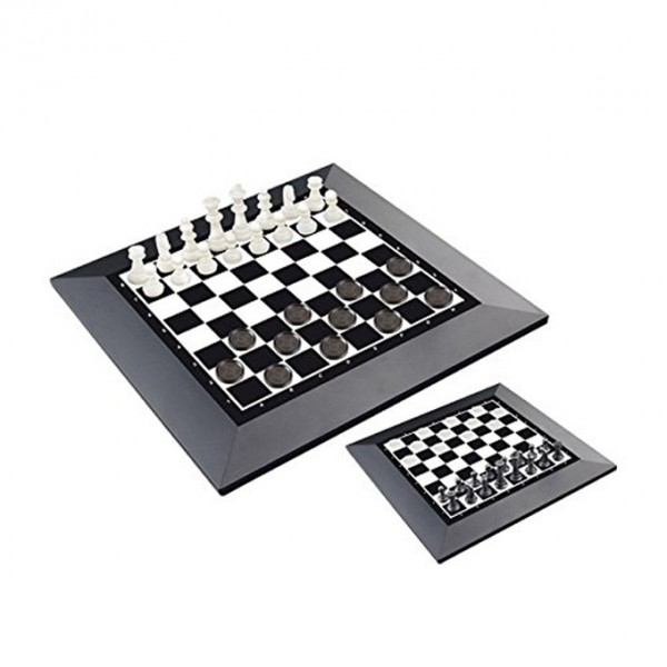 Checkers and Chess Magnetic Board Game