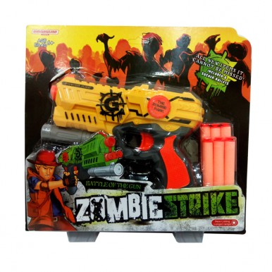 Zombie - Nerf Buller Gun with Darts Set