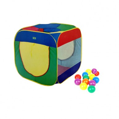 Ball House Play Tent for Kids - 15 Balls Included