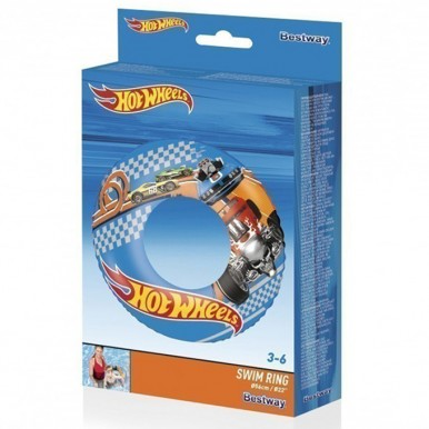 Bestway - Hotwheels Swimming Pool Ring Tube