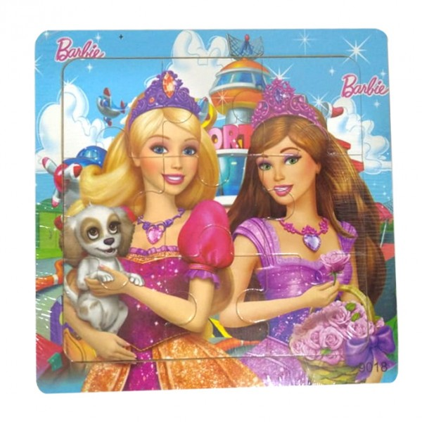 Wooden Jigsaw Puzzle - Barbie Girls - 5.75 inch
