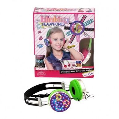 Blinking Headphones for Girls - Design Your Way