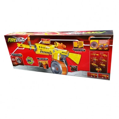 Blaster Fire Storm Soft Bullet Nerf Gun with Magazine Rounds