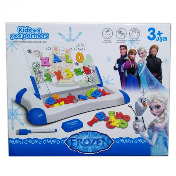 Frozen Whiteboard and Magnetic Learning Case