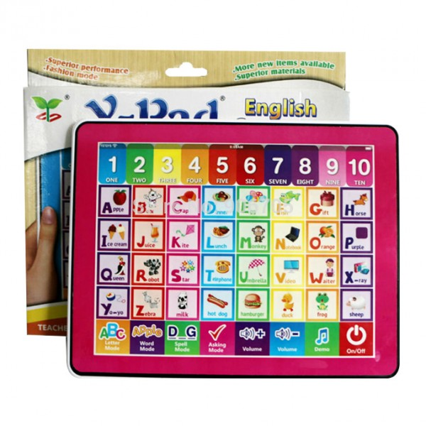 Y-Pad English Learning Computer Tablet for Kids