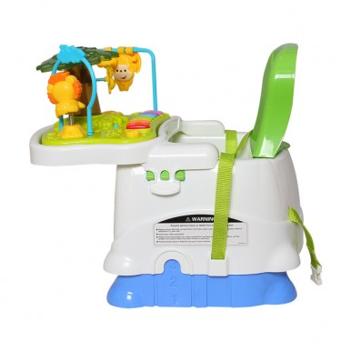 Baby Booster Seat with Dining and Activity Tray - 2 in 1