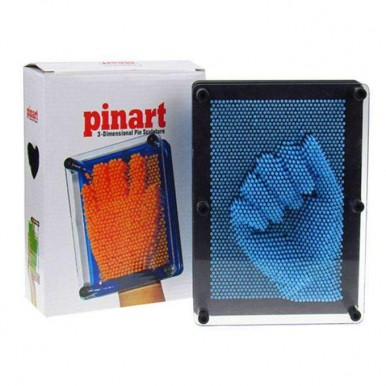 Colorful Pin Art 3-D Sculpture Board Children and Adults