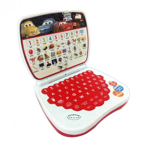 Cars McQueen Educational Learning Mini Laptop for Toddlers