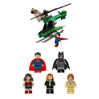 Heroes of Justice - Sky High Battle - Building Blocks for Kids - 7118
