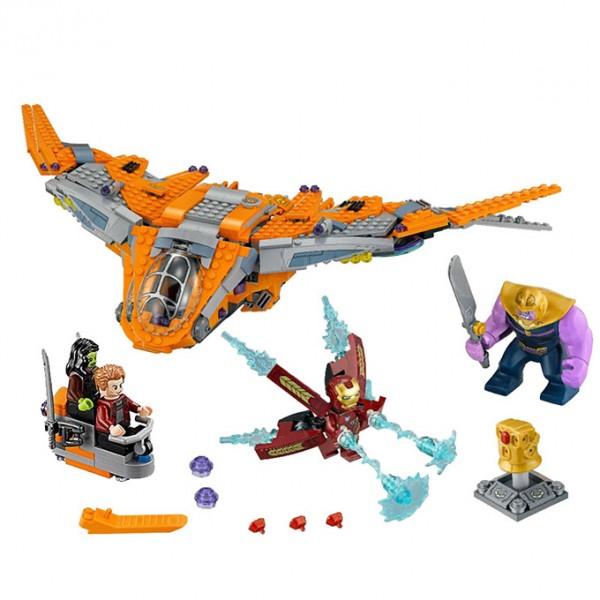 Avengers: Infinity War: Thanos Ultimate Battle Building Blocks - 07103