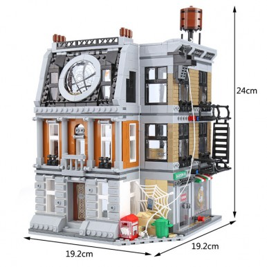 Avengers Infinity War Sanctum Sanctorum Showdown Building Blocks For Kids - 07107