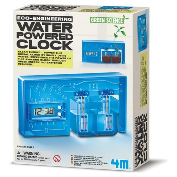 4M - Kidz Labs - Green Science Eco-Engineering Water Powered Clock